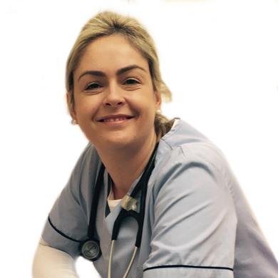Nurse Lynn O'Shaughnessy